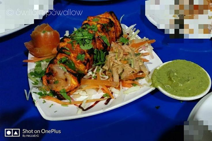 Guru kripa: great place to dine with family and kids. Best services at affordable rates.   Name: Paneer tikka Place: Guru kripa indore Ambience: 6/10 Price: Rs 120 Value for money: 7/10 SSS rating: 6.5/10.   Email us for recipes - swillslurpswallow@gmail.com Follow us for more mouthwatering dishes.. On Facebook:  http://ift.tt/2vVuJDo {Clickable link in bio}  On Instagram:  http://ift.tt/2uKVFaz  On WhatsApp: 8770517362  Picture credits @hritik_verma  #swillslurpswallow  #gurukripa  #indore…