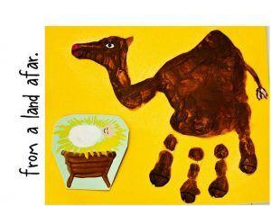 handprint-camel-craft-idea