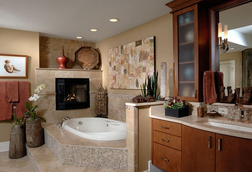 Dream bathInteriors Design Tips, Decor Ideas, Contemporary Bathrooms, Bathroomideas, Bathroom Ideas, Mosaics Tile, Bathroom Decor, Spa Bathroom Design, Master Bathroom