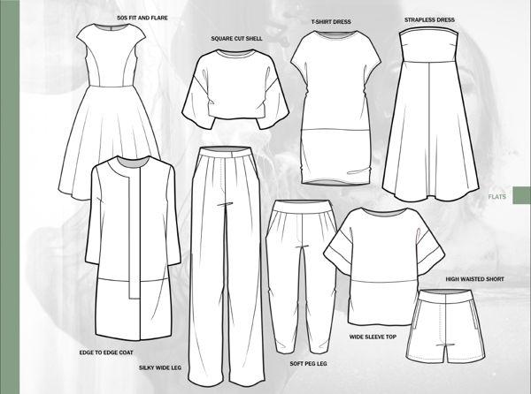 knitting fashion sketches - Cerca con Google