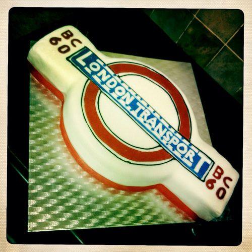 london transport cake