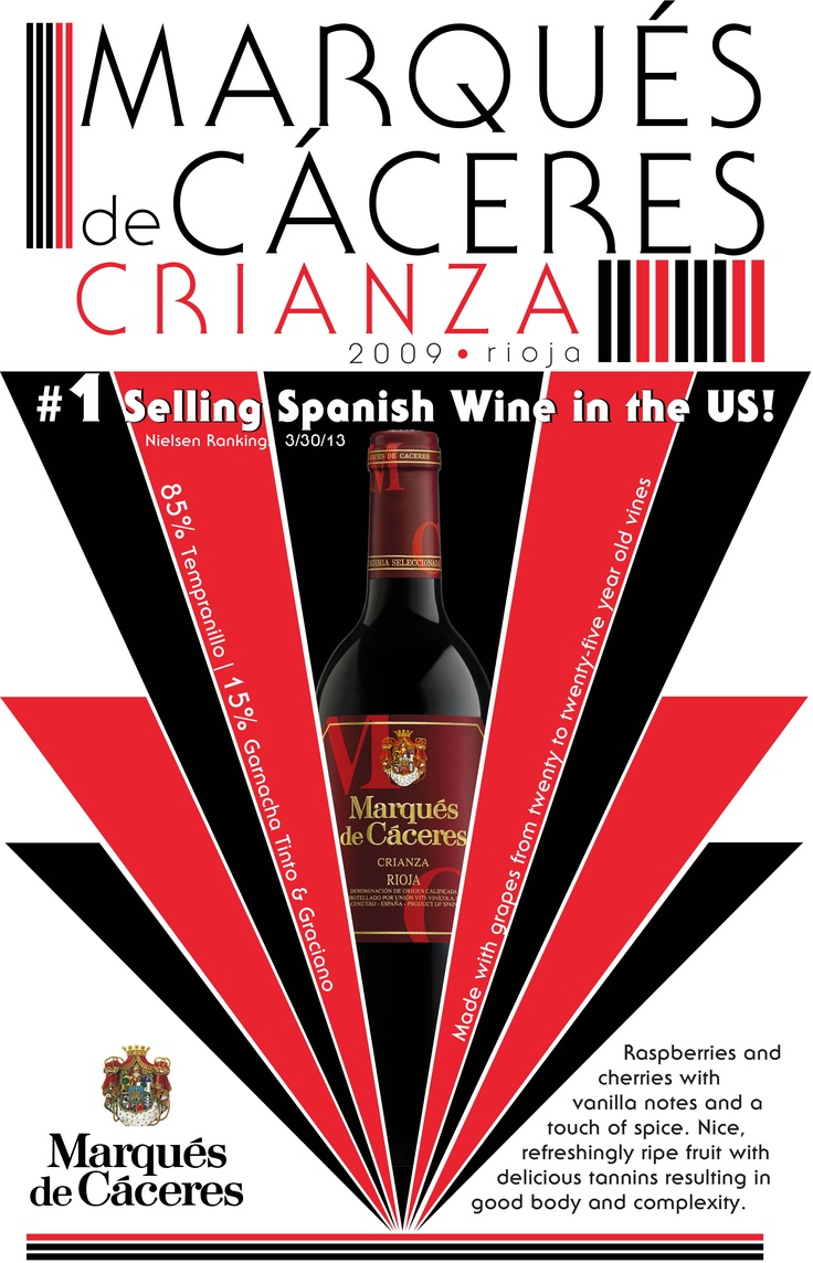 Marques De Caceres Crianza 1 Spanish Wine In The Us