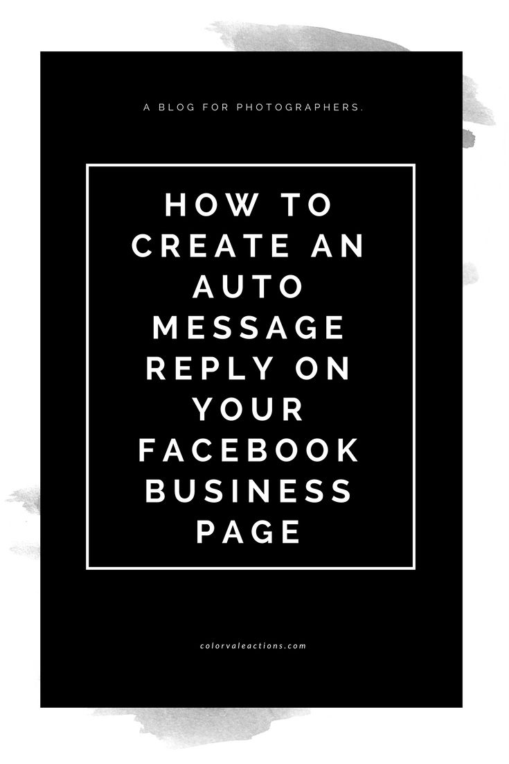 how to send a mass message on facebook page
