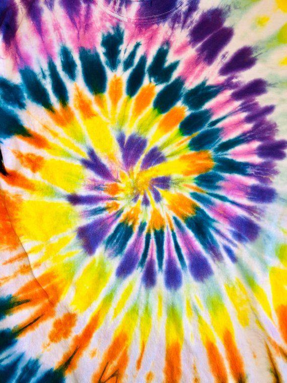 Long Sleeve Spiral Etsy Tie Dye Wallpaper Tie Dye Background Hippie Art