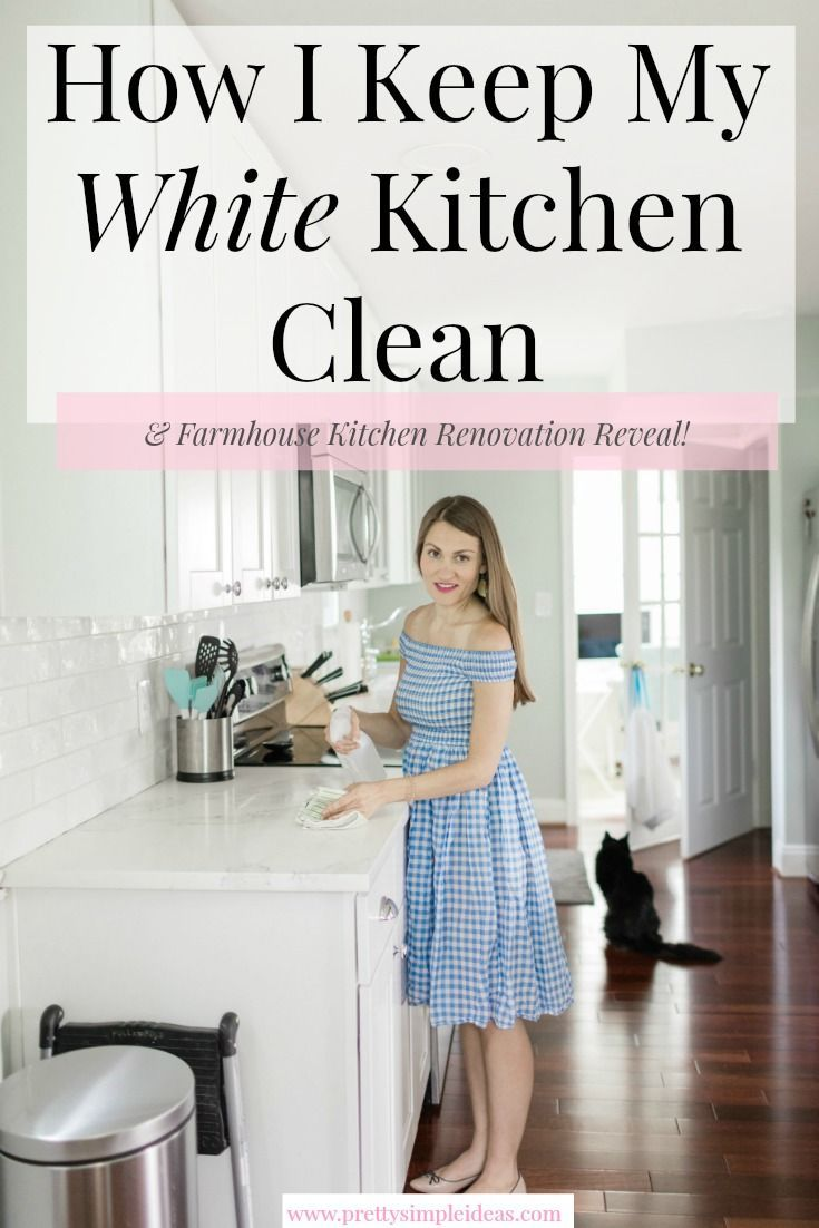 Download Wallpaper Are White Kitchens Hard To Keep Clean