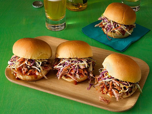 Made these tonight - OMG - they rock!!!!!!  Pulled Pork Sliders Recipe : Anne Burrell : Food Network - FoodNetwork.com