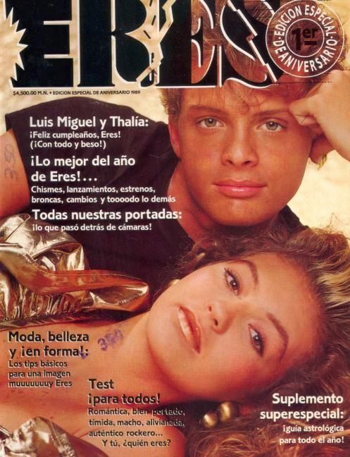 Sep 1989 Luis Miguel y Thalia. OMG! Y TU QUIEN ERES.... :)