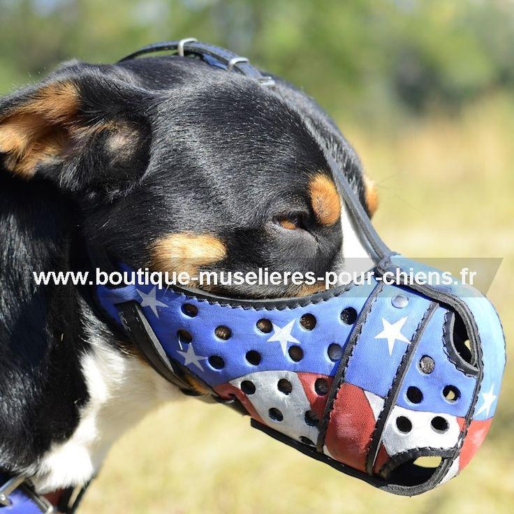 #muselière #muzzle d'attaque pour chien de design unique, fait main → 68,70 € @fordogtrainersf Pensez à mentionner «J'aime» si ce produit vous plaît.