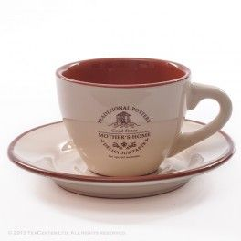 Mother's home teacup with saucer
