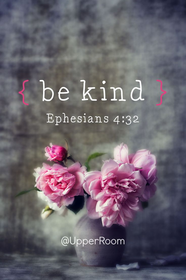 Ephesians 4:32~Be kind and compassionate to one another, forgiving each other, just as in Christ God forgave you.