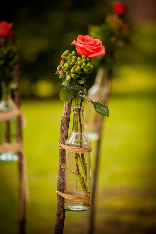 Country cowboy chic wedding  flowers rustic wedding ideas