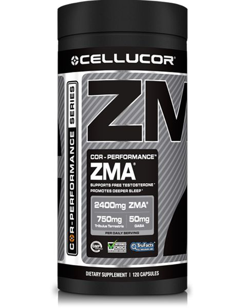 ZMA is a combination of zinc and magnesium, two essential dietary minerals, and Vitamin B6. Research has indicated that intense training may deplete essential vitamin and mineral stores in the body; oftentimes these specific minerals aren't obtained in optimal levels through diet alone in the first place! Taking a properly dosed ZMA supplement like COR-Performance ZMA can help you attain your vitamin and mineral intake goals to maximize your results.*