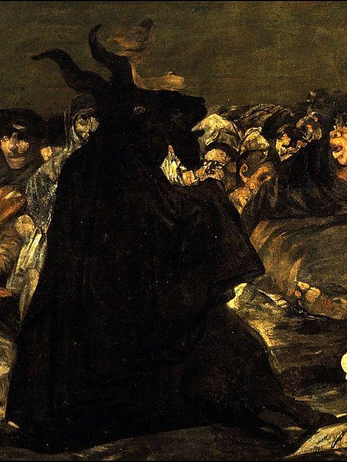 Francisco de Goya - Witches' Sabbath (The Great He-Goat)