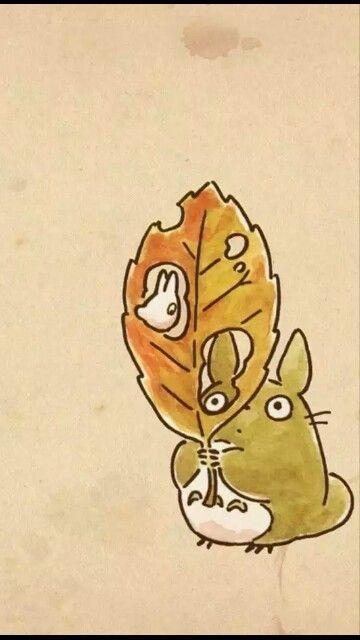 Fondo de Totoro * (fondos para tu smartphone)