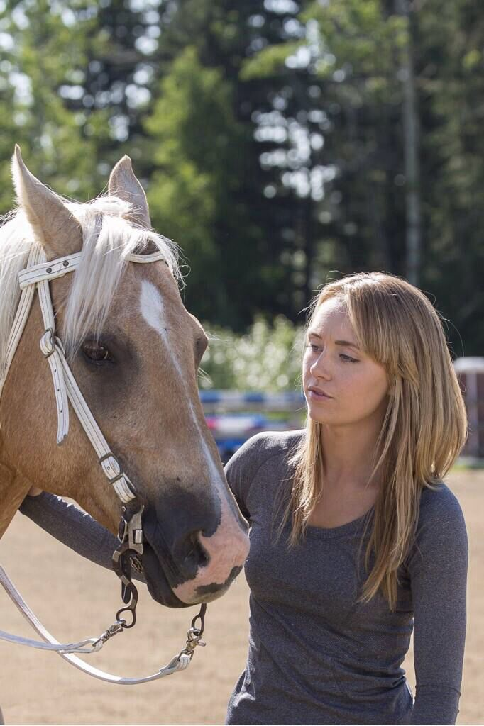 Amy working with a horse | ️ ️Heartland ️ ️ | Pinterest ...
