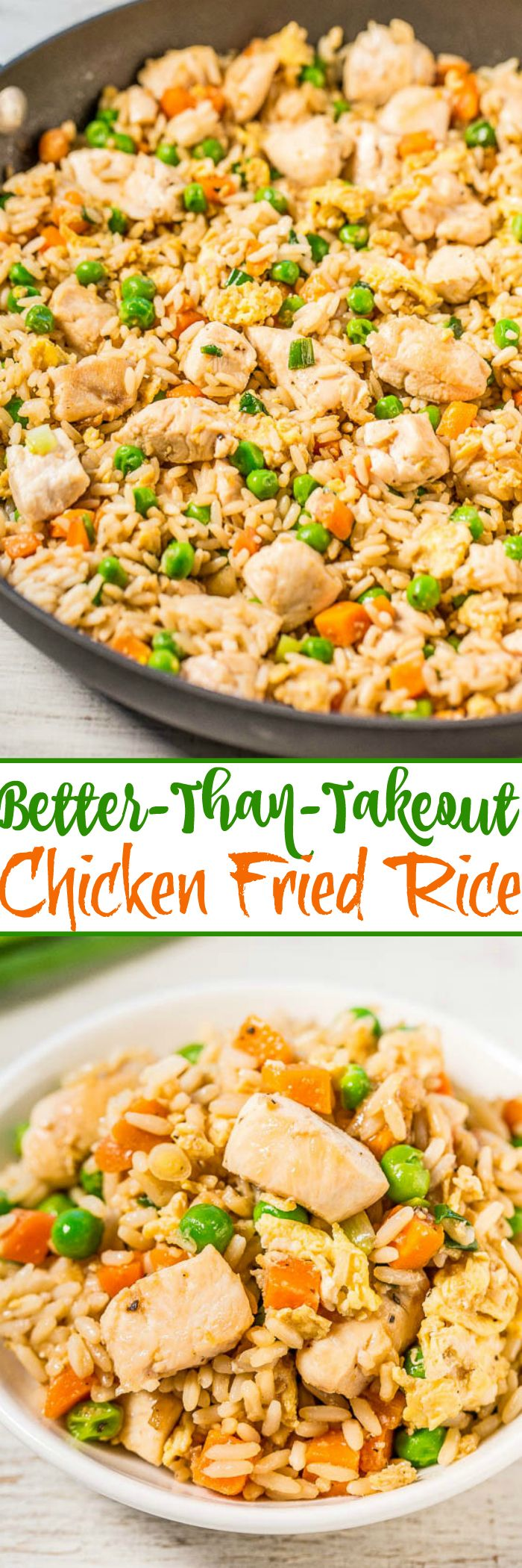 Easy Better-Than-Takeout Chicken Fried Rice (via Bloglovin.com )