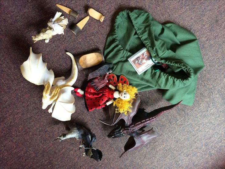 Ideas for forest school activity bags. Fairies & fantasy.