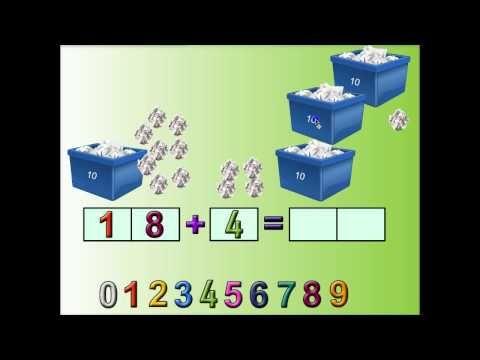 Kymmenylitys yhteenlaskussa - YouTube