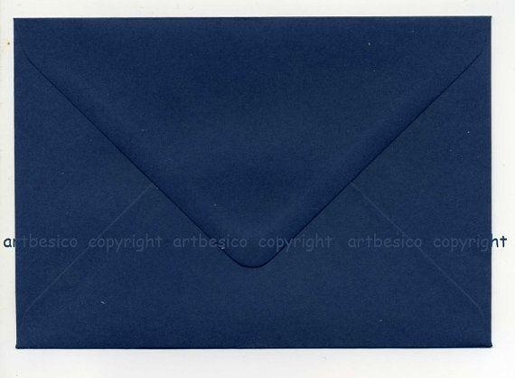 Navy envelopes size C6 envelopes x 100 by artbesicowood on Etsy, £25.50