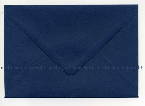 Größe C6 Briefumschläge X 50-Marine Hüllkurven von artbesicowood