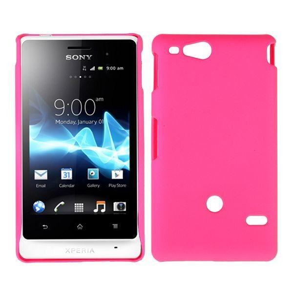 Hard Shell (Hot Rosa) Sony Xperia Go Deksel