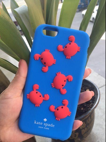 d28f756730 海外可愛いKatespadeケース立体的蟹カニかに | iPhoneケース | 携帯 ...