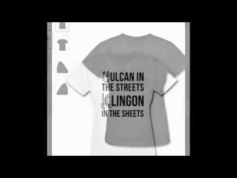 Spreadshirt Women's Vulcan in the Streets, Klingon in the Sheets T-shirt...