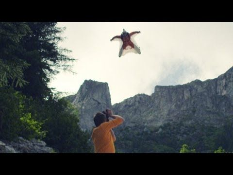 SPLIT OF A SECOND - A film about wingsuit flying. I'd love to be able to do this at any time in the future.