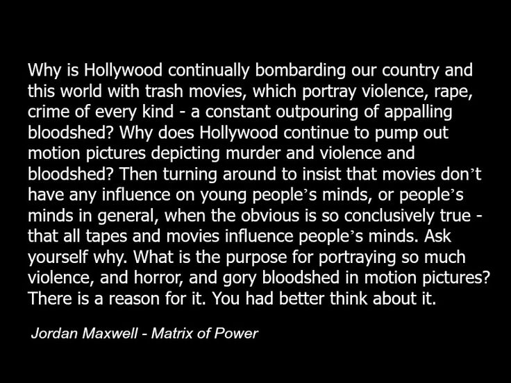 Jordan Maxwell quote - hollywood - mind control - programming - occult - illuminati - conspiracy-c75.jpg