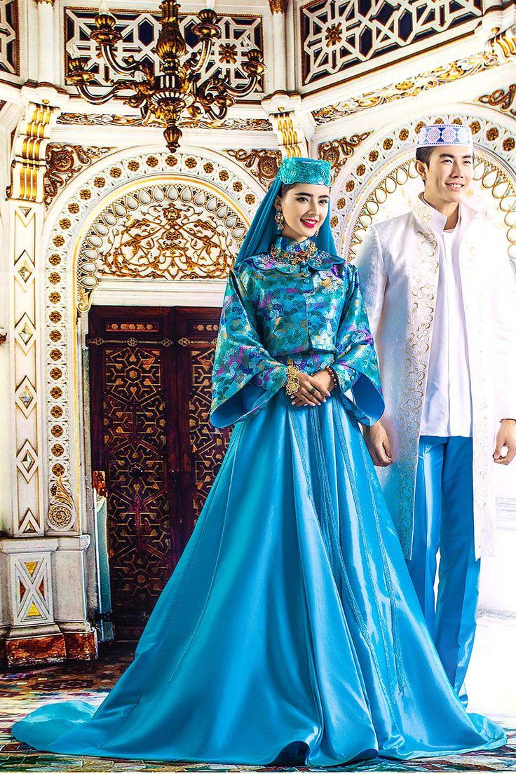 282 best Stylish Muslim Wedding Dresses images on Pinterest | Short ...