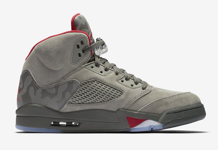 Official images of the Air Jordan 5 Camo that will release on September 2nd 2017 for $190.