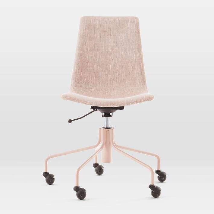 Modern Slope Upholstered Swivel Office Chair Modern Slope Upholstered Swivel Office Chair Ad Homedecor Swivel Office Chair Office Chair Modern Office Chair