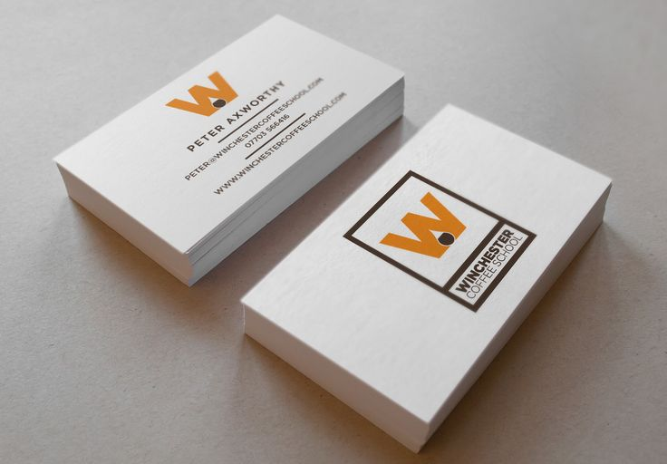 Winchester Coffee Roasters business cards