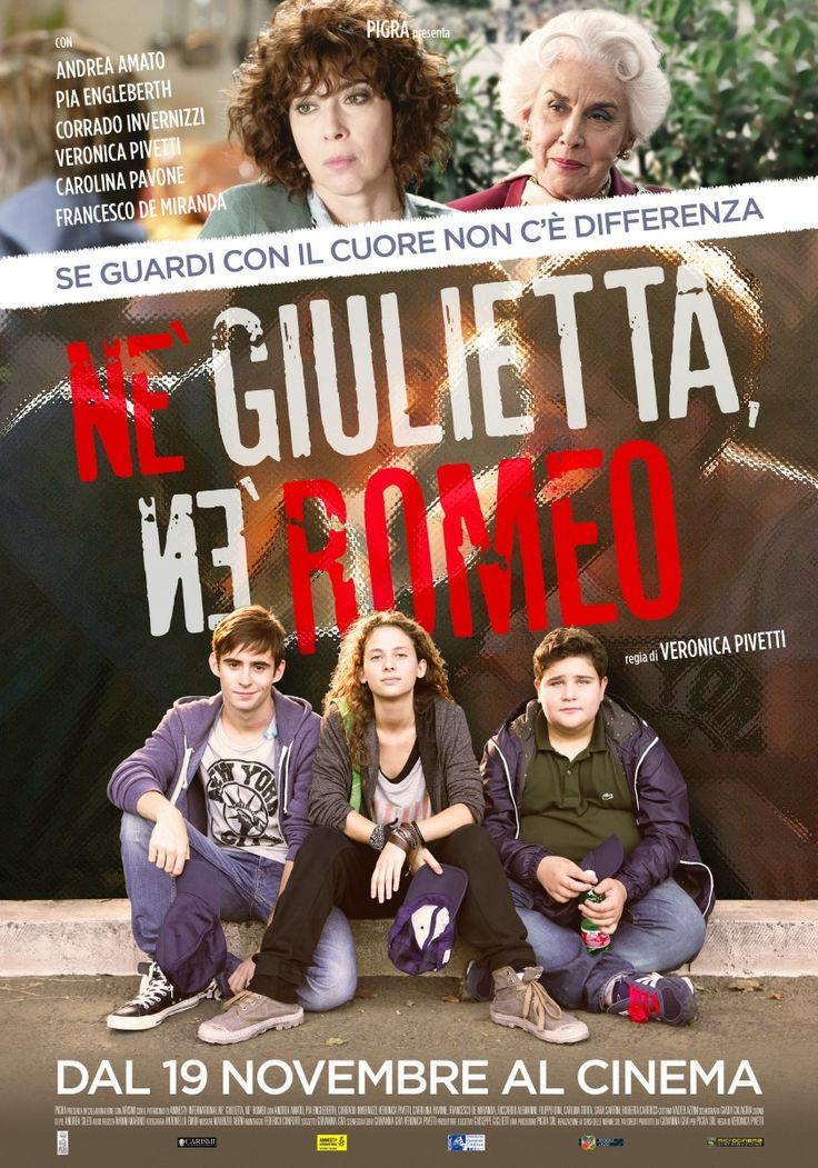 Né Giulietta né Romeo, il film di Veronica Pivetti, dal 19 novembre al cinema.