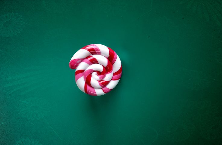 christmas Lollipop white and pink Ring,Candy Ring!!!