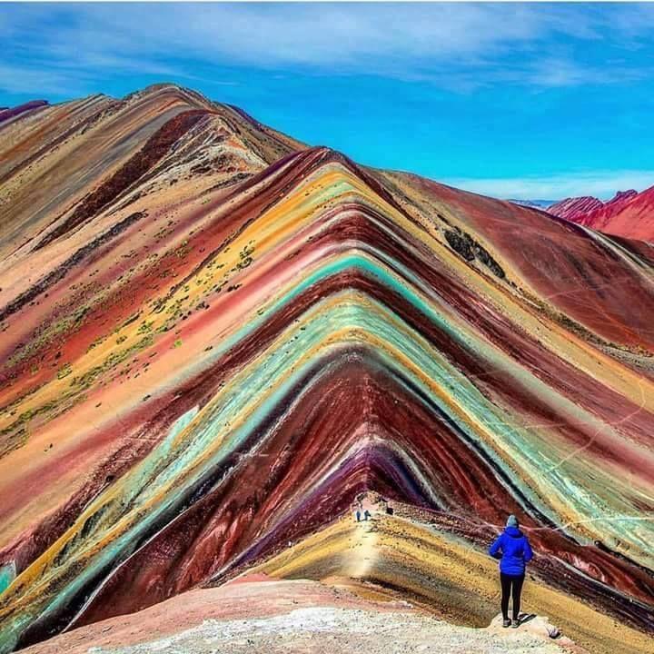 Montaña de los 7 colores en Perú