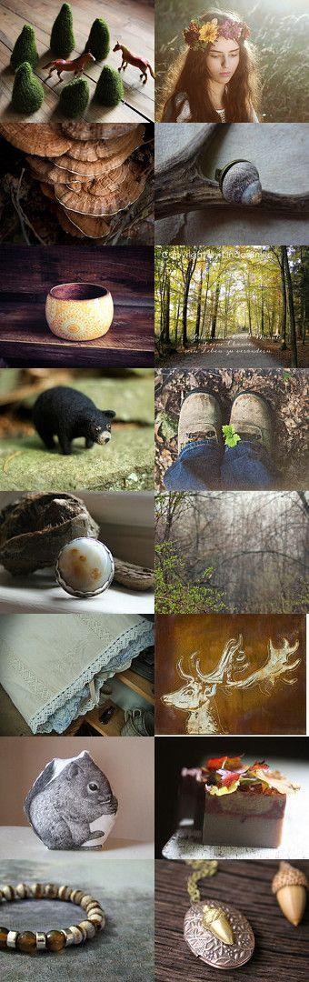 woodland by Barbara on Etsy #teamaustria #trendsettingteam