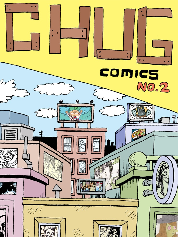 Chugnut Comix #2- Free Comic Download. Contains a selection of Australian comic artists.