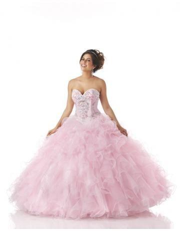 robe de mariée glamour princesse ras du sol col en coeur