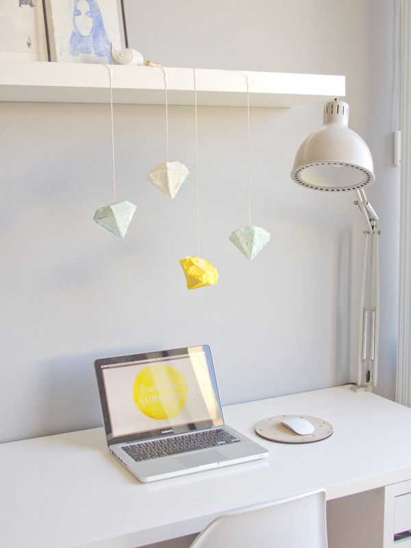 DIY Gem Piñatas | Lovely Indeed