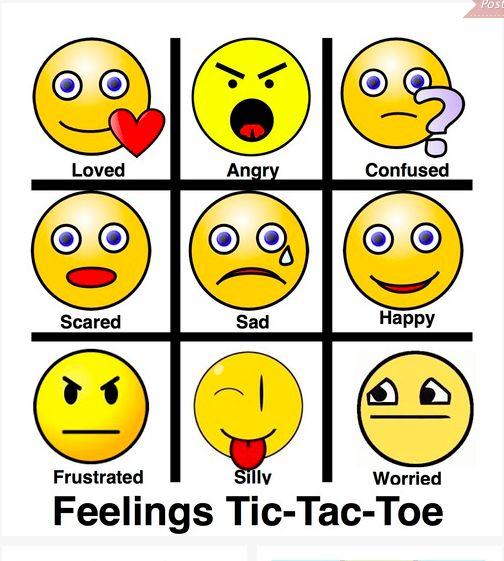 Feelings Tic-Tac-Toe