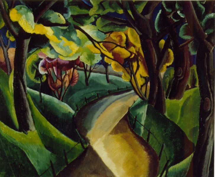 [René Paresce] La foresta, 1917