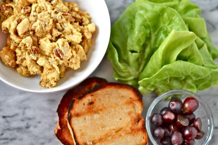 curry radicchio chicken salad sandwiches curry chicken salad sandwich ...
