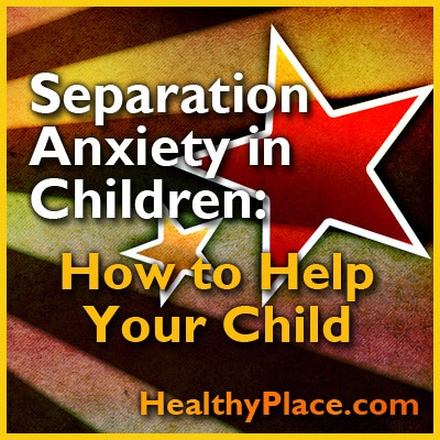 Separation anxiety disorder in children is a common problem but there are many ways to successfully deal with separation anxiety in children.