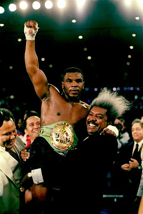 """My record will last for immortality. It will never be broken.""-Mike Tyson (after becoming the youngest world heavyweight champion in boxing history)."