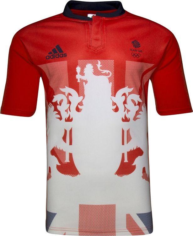 Adidas lança uniformes de rugby da Grã Bretanha para Rio 2016 - Show de Camisas