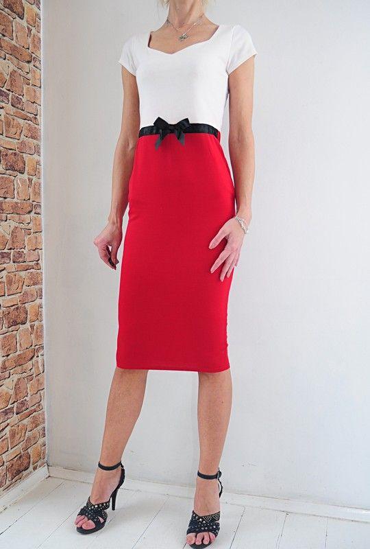 64985103163b8d Boohoo sukienka czerwona ołówkowa 38 METKA w 2019 | dress | Sukienka ...