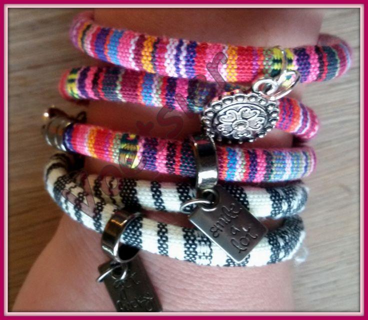 Aztec armbanden verkrijgbaar in diverse kleuren enkel of dubbelvoudig bij Voetsier/Pedicure Praktijk Leersum