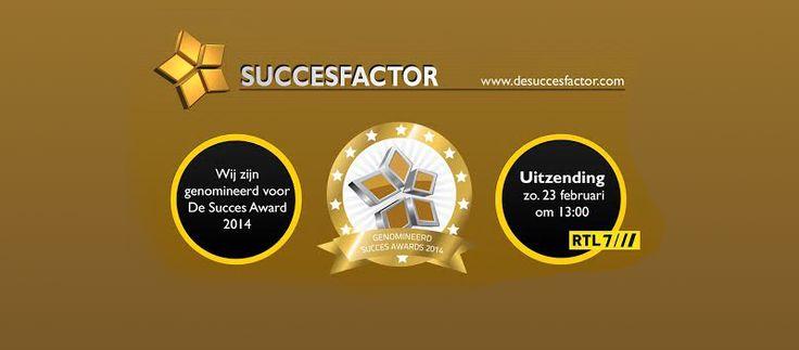 Groveko is genomineerd voor De Succesfactor!