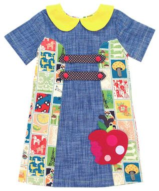 This toddler girl dress is sure to make your fashionista the best dressed on the block! It features a fun pattern, cool applique and a super comfortable fit!